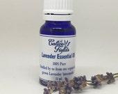 Lavender Essential Oil - Organic Lavender Essential Oil - Aromatherapy Oil - Lavender Oil
