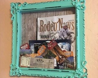 Ticket-ADMIT ONE- Adventures & Memories Shadow Box