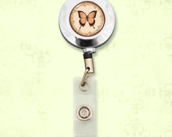 Butterfly Badge Clip Reel - 57897