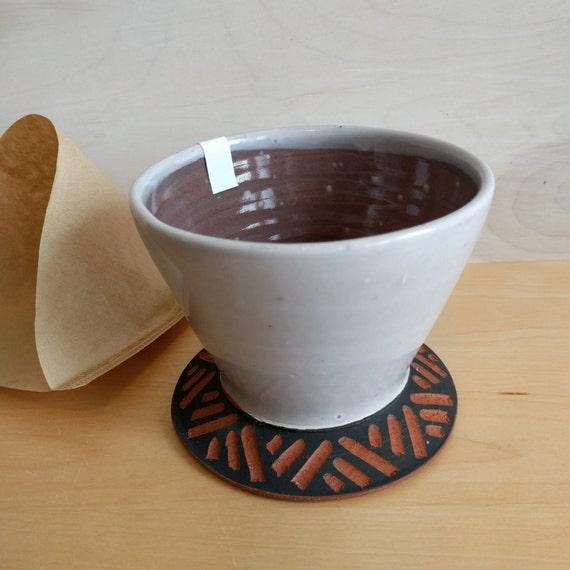 Pour Over Coffee Maker Ceramic : Items similar to Pour Over - Drip coffee - pour over coffee - pour over coffee maker - coffee ...