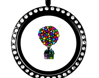 UP Balloon House Floating Charm