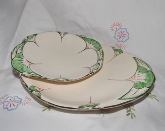Art Deco design 1920/30s China Plates, Platters