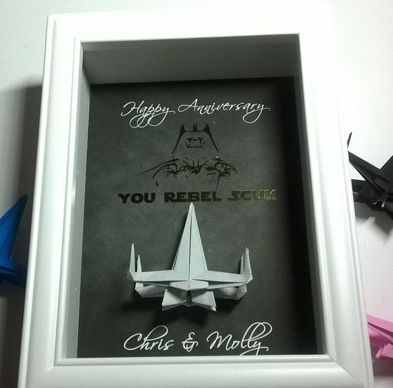 Darth vader 1st anniversary gift for men 1 year anniversary for 1st wedding anniversary gifts for men