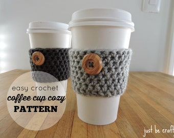 Crochet Coffee Cup Cozy Pattern PDF Download; Coffee Cup Cozy; Starbucks Coffee Cup Cozy; Cup Cozy Pattern ; Crochet Cup Cozy; Cup Holder