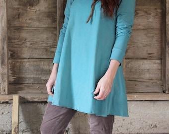 Juniper Swing Dress / Organic Cotton