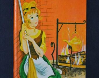 Cinderella, Vintage Children's Book, Junior Elf Book, 1966