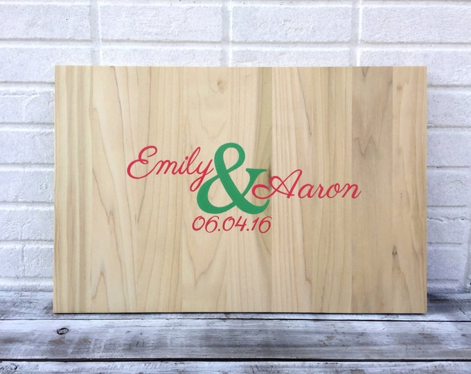 Wedding Guest Sign Board, Rustic Guestbook Alternative, Wooden Sign Guest Book Ideas