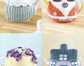 Knitting Pattern For Michael D Higgins Tea Cosy : Crochet tea cosy Etsy
