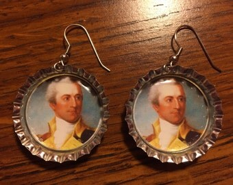 John Laurens Bottlecap Earrings