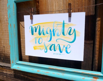 Mighty to Save | Zephaniah 3:17