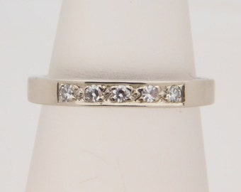 0.20 Carat T.W. Round Cut Diamond Band 14K