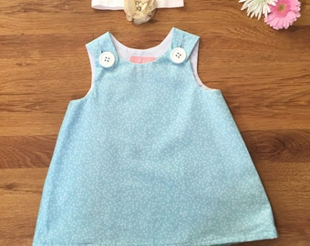 Fly Away Blue Pinafore
