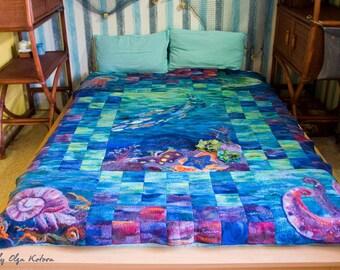 "Felt blanket ""Under the Sea"""