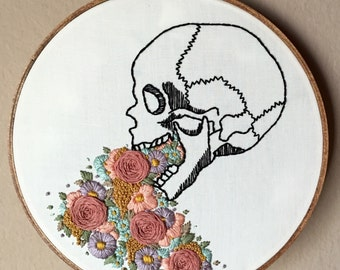Stay Sexy Don39t Get Murdered Quote Hand Embroidery Hoop