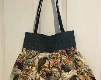Native American Print Tote/Handbag