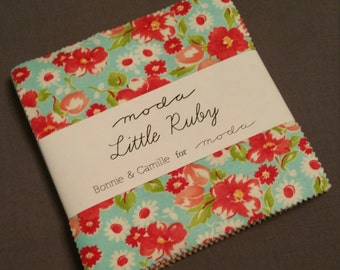 LITTLE RUBY Charm Pack by Moda Bonnie and Camille