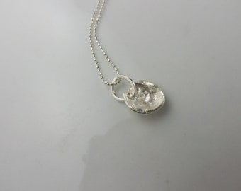 WCS029 Sterling Water Cast Pendant #5
