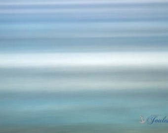 Limited Edition ~ Antiqued Aqua ~ East Matunuck, Rhode Island, Fine Art Canvas, Artwork, New England,Seascape, Coastal, Fine Art Photography