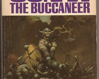Lancer, L. Sprague De Camp and Lin Carter: Conan the Buccaneer, #11 in the Lancer Uniform Edition Run