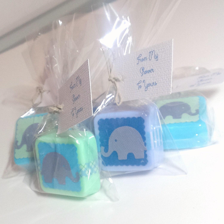 elephant baby shower favors baby boy shower favors handmade