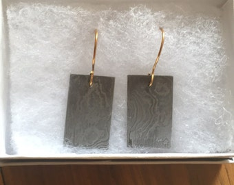 Damascus earrings