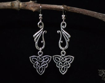 "Earrings ""Elven Mystery"""