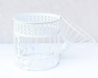 Set of 2 Bird Cage Wishing Well, Card Holder, Decoration Centrepiece for wedding engagement bridal shower