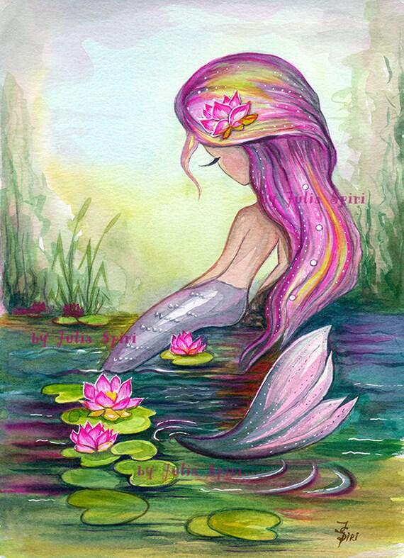 Mermaid Digital Stamps Sea stamps