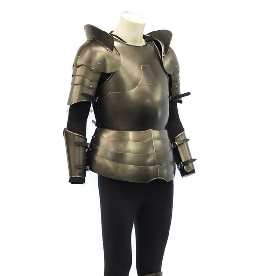 Larp Armour Milanese Upper body armour set