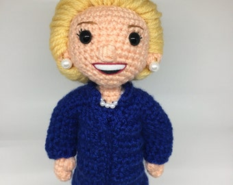 Hillary Clinton Doll Made to Order