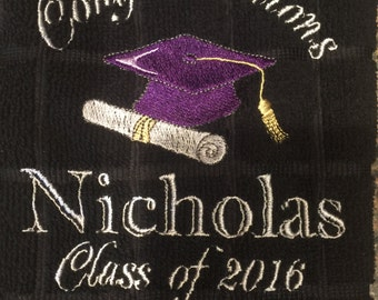 Personalized Bar Towel - Special Occasion - Birthday - Graduation - Wedding - Shower - Anniversary - Party Decor