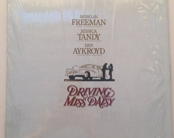 DRIVING MISS DAISY Laser Disc / Vintage Edition of Driving Miss Daisy on Laser Disc starring Dan Aykroyd