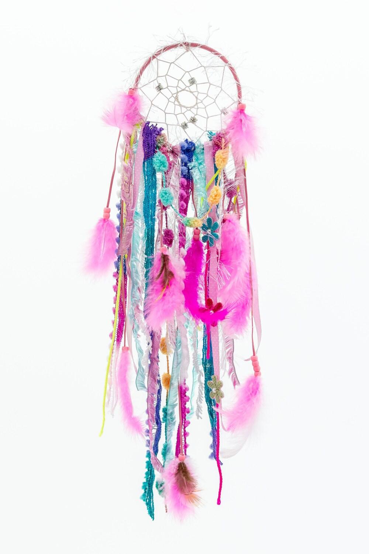 Pink DIY Dreamcatcher Kit. Dream Catcher Kit by SloanDreamKits
