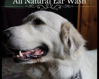 Ear Wash for Dogs, Puppies, Cats, Kittens, Ferrets, Rabbits, and Rodents