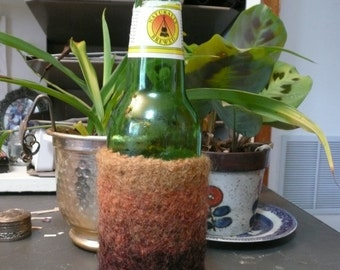 Custom Felted Bottle Cozy