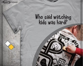 Road Map Back Rub Shirt - Great Gift for Dads and Grandpas - Kids Give Massage While Playing with Cars  ID22