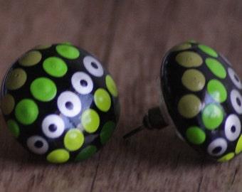 Jewellery Earrings E27 Rainforest