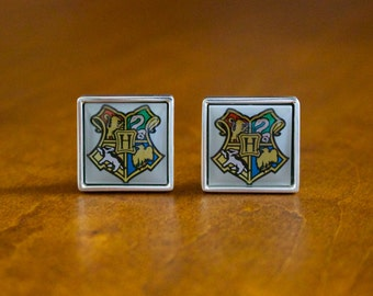 Sterling Lego Cufflinks made with Genuine LEGO® Harry Potter Set Pieces, Sterling Silver Cufflinks, Gift for Him, Best Man Gift