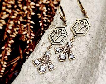Art Deco earrings Art deco jewelry Vintage earrings Vintage jewelry Victorian earrings Victorian jewelry Vintage style jewelry