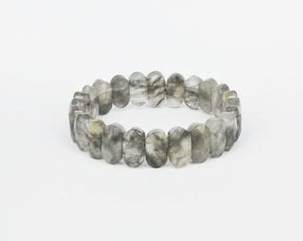 Beautiful Cloudy Quartz Bracelet