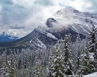 Winter Photo, Winter Photography, Mountain Photography, Mountain Print, Landscape Photo, Winter Download, Landscape Photography, Winter Art