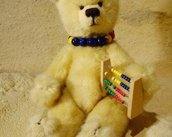 Collectable Teddy Bear, Artist Teddy Bear, Plush Teddy Bear, Handmade Teddy Bear, One of a kind Teddy Bear