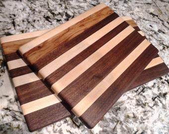 Walnut cutting boards, Maple cutting boards, Hardwood cutting boards, custom cutting boards