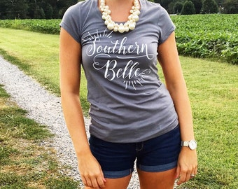 Southern Belle babydoll tee