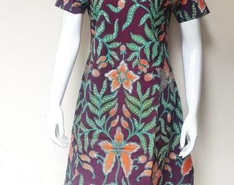 Casual Handmade Batik Dress