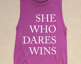Graphic Tee - WOMEN'S GRAPHIC TANK - Inspirational Quote Tank - Motivational Tank Top