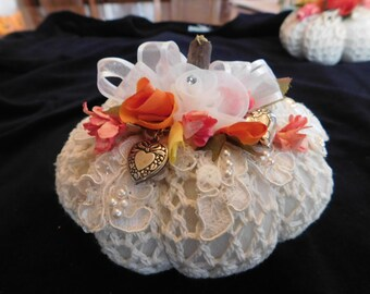 Victorian Lace Pumpkins