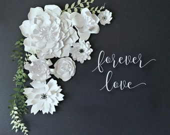 Paper Flower Collection - DIY PRECUT Flowers - Assembly Required