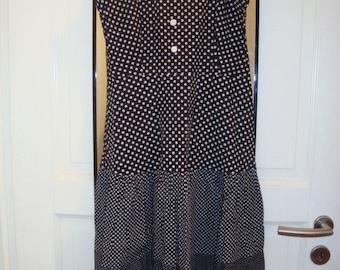 Handmade Polka Dots Dress