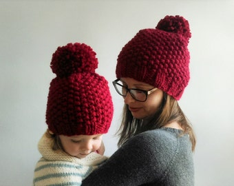 Mommy and Me Hats